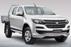 2016 HOLDEN COLORADO LS (4x4) RG MY17