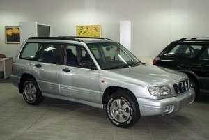 2002 SUBARU FORESTER SPECIAL EDITION MY02