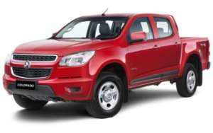 2014 HOLDEN COLORADO LX (4X4)