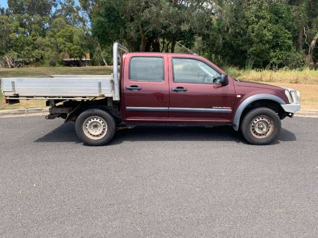 2004 HOLDEN RODEO LX (4x4)