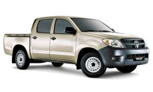 2010 TOYOTA HILUX WORKMATE TGN16R MY11 UPGRADE